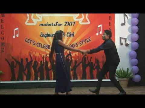 couple Dance  Shyam& shashi | MBU| Engineering college