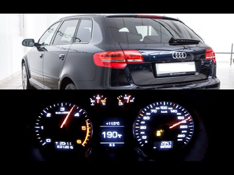 audi a3 sportback 8p 2 0 tdi s tronic 0 100 km h 0 190. Black Bedroom Furniture Sets. Home Design Ideas