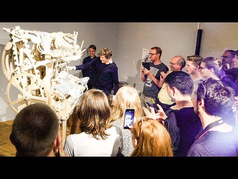 Meet & Greet Tour with Martin and The Marble Machine at Speelklok Museum