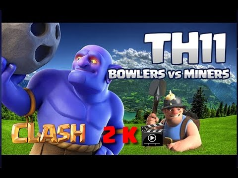 Clash of Clans Greece - Bowlers vs Miners