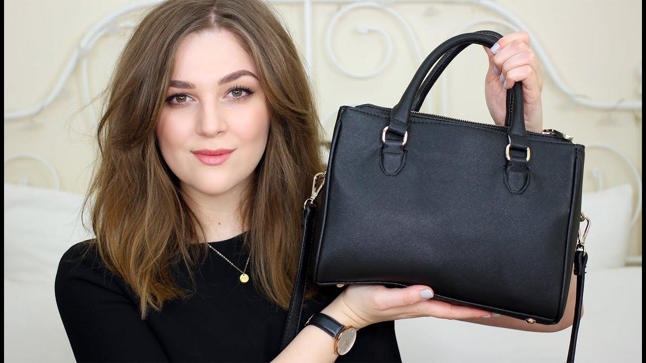 Whatu0027s In My Bag: Zara Mini Office City | I Covet Thee   YouTube