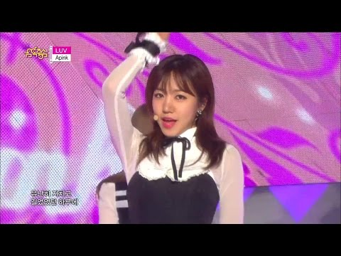 [HOT] Apink - LUV, 에이핑크 - 러브, Show Music core 20141213