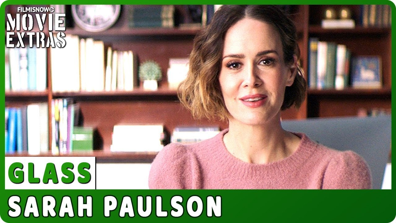 GLASS | On-set Interview with Sarah Paulson