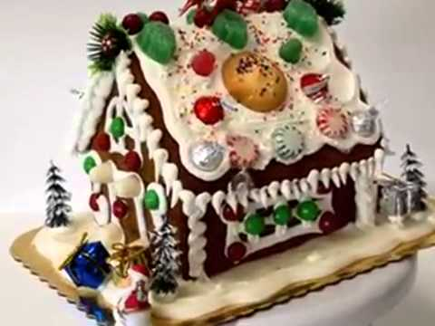 How To Make Cake GingerBread House Design Ideas YouTube