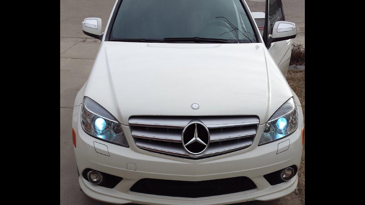 2012 mercedes c class xenon lights fiat world test drive for Mercedes benz xenon headlights