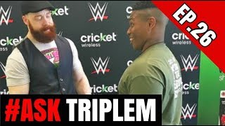 Am I Still Training?? Favorite Pictures With WWE Superstars | #AskTripleM