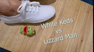 White Keds vs Lizard Man Crush