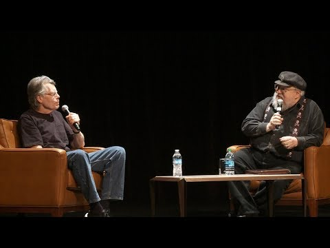 """George RR Martin asks Stephen King: """"How do you write so Fast?!"""""""