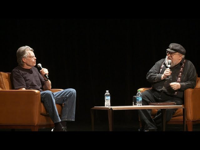 George RR Martin asks Stephen King: