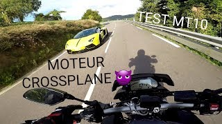 TEST MT10 NIGHT FLUO | MOTEUR CROSSPLANE ✔😈       *Réupload*