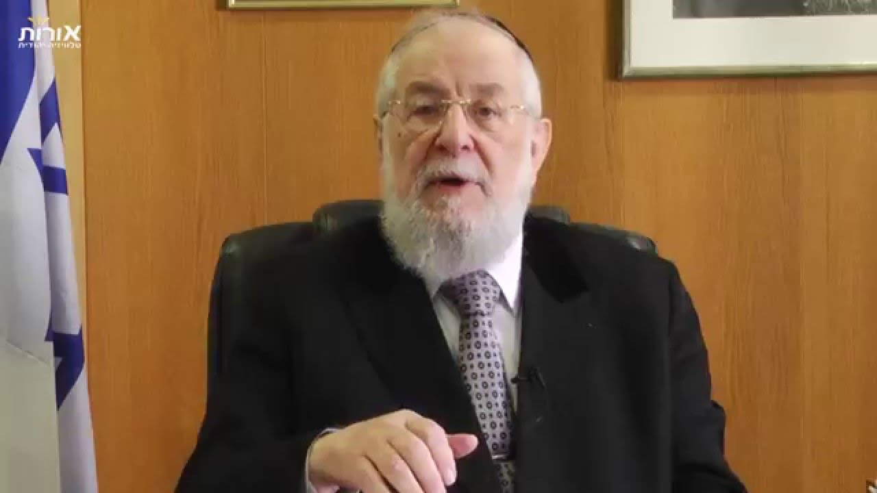 Where is God? Rabbi Lau on Parashat Tetzaveh