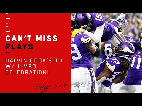 Dalvin Cook's TD w/ Hilarious Limbo Celebration!