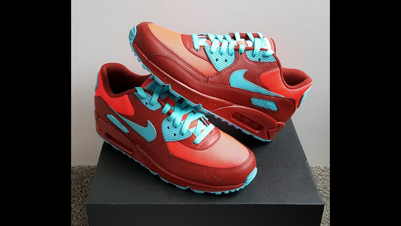 info for bff44 33d2d unboxing unpacking Nike Air Max 90 NikeId Amsterdam
