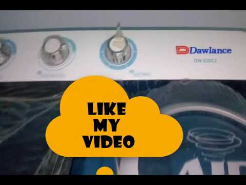How to Use Twin Tub Dawlance Energy Save  Washing Machine Fully Automatic 2017 Review