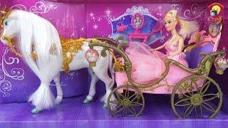 Карета з конем для Попелюшки / Carriage with horses for Cinderella