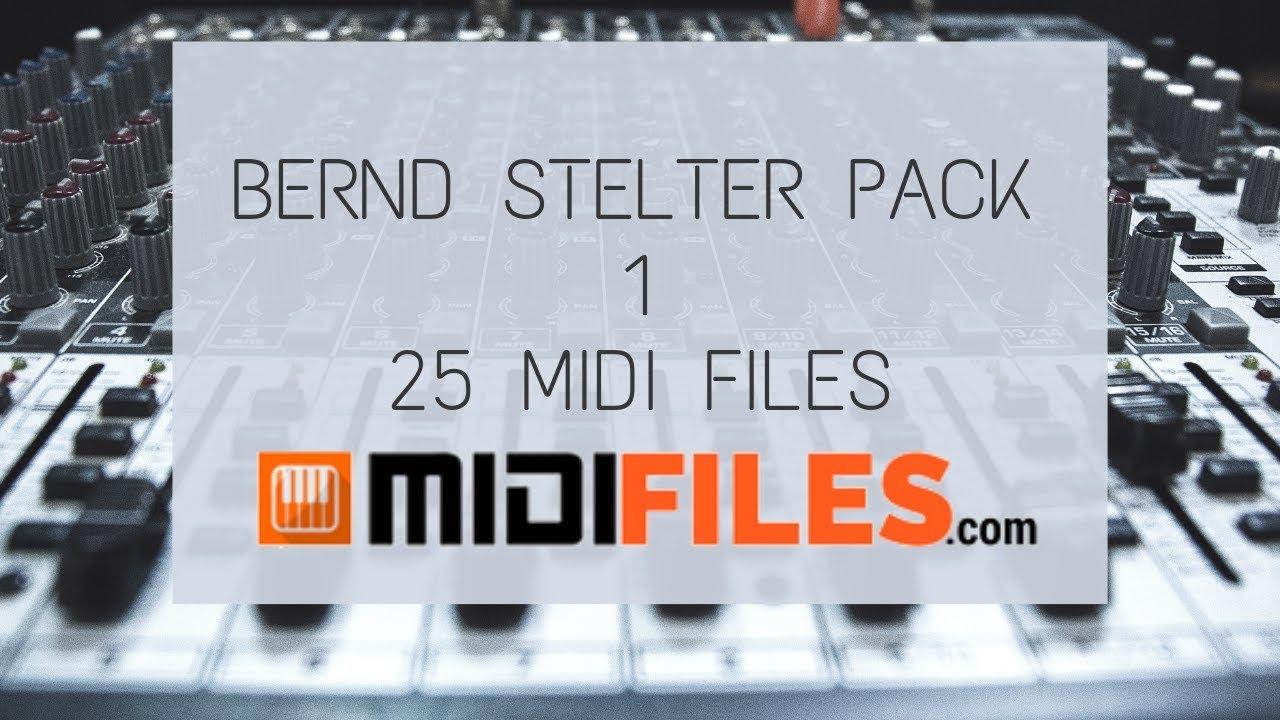 Pro Midi File Bernd Stelter 25 Midi Files Pack