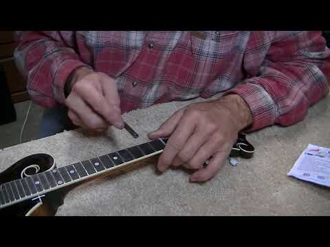 198 RSW KM1050 Mandolin Setup Lead Playing DVD News