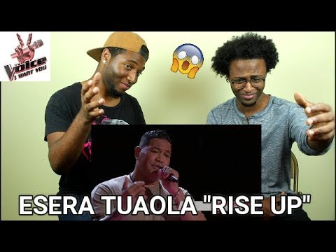 "The Voice 2017 Blind Audition - Esera Tuaolo: ""Rise Up"" (REACTION)"