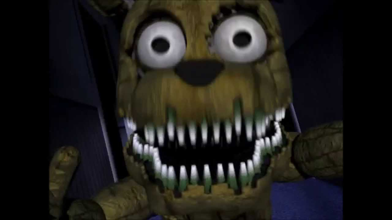 fnaf 4 plushtrap jumpscare youtube