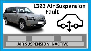 How to reset the air suspension inactive warning Range Rover