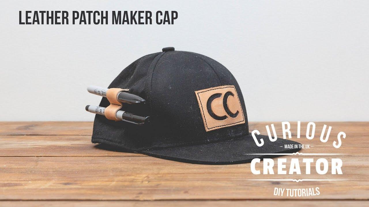 0cbe94a69 #46 Leather Patch Maker Cap - DIY Curious Creator