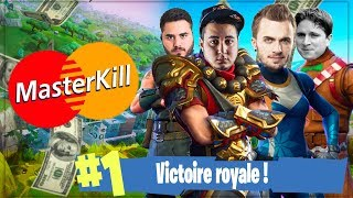 SQUEEZIE RÉVOLUTIONNE LES PARIS ► FORTNITE MASTERKILL #5 (Partie 1/2)