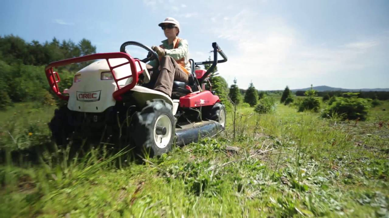 Tall Grass and Brush are No Match for The Brush Rover - YouTube