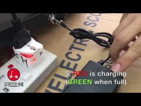 Charging Your E-Scooter |Scooter Hub