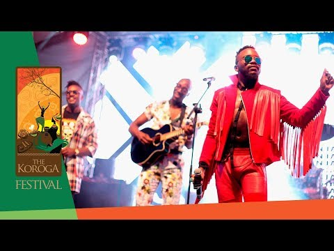 "Sauti Sol wows with ""Awinja"" Live at the Koroga Festival"