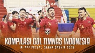 KOMPILASI GOAL! - Timnas Futsal Indonesia di AFF Futsal Championship 2019