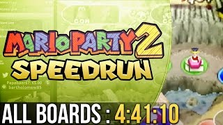 Mario Party 2 All Boards (Easy) Speedrun in 4:41:10