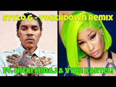 Stylo G Ft. Vybz Kartel & Nicki Minaj - Touchdown Remix (Caspian Review!) FREE WORLD BOSS!