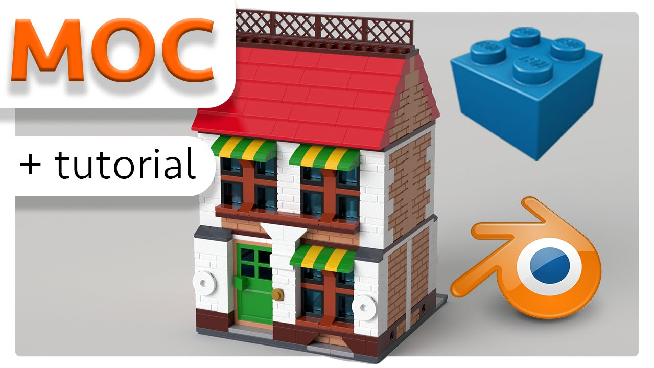 moc tutorial how to create a lego animation and moc with lego digital designer blender. Black Bedroom Furniture Sets. Home Design Ideas