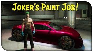 GTA 5 TOUCH UP TUESDAY! Rare Crew Paint Jobs! (Joker Red, Nuke Yellow & Magic Mango)