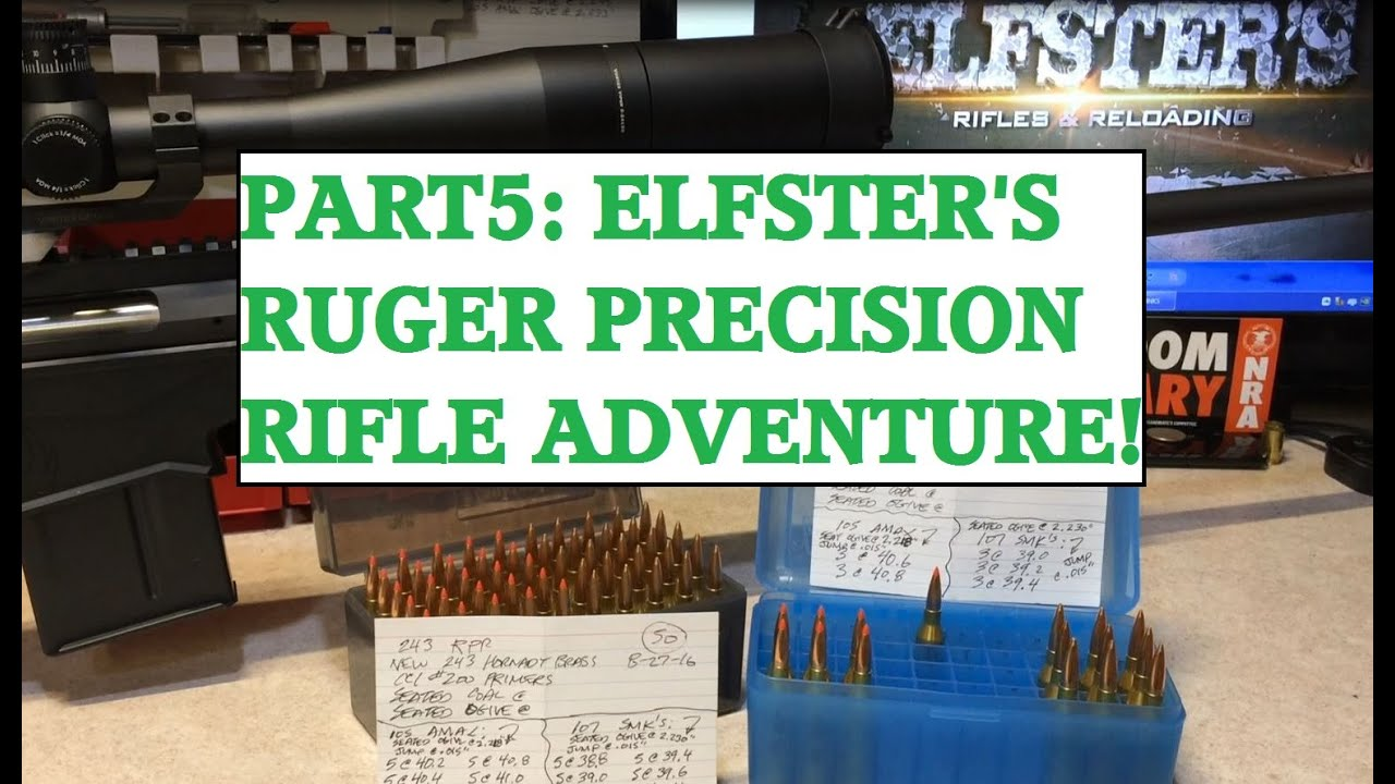 PART5: RUGER PRECISION RIFLE ADVENTURE!