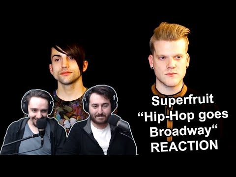 'Superfruit - Hip-Hop goes Broadway' Singers Reaction