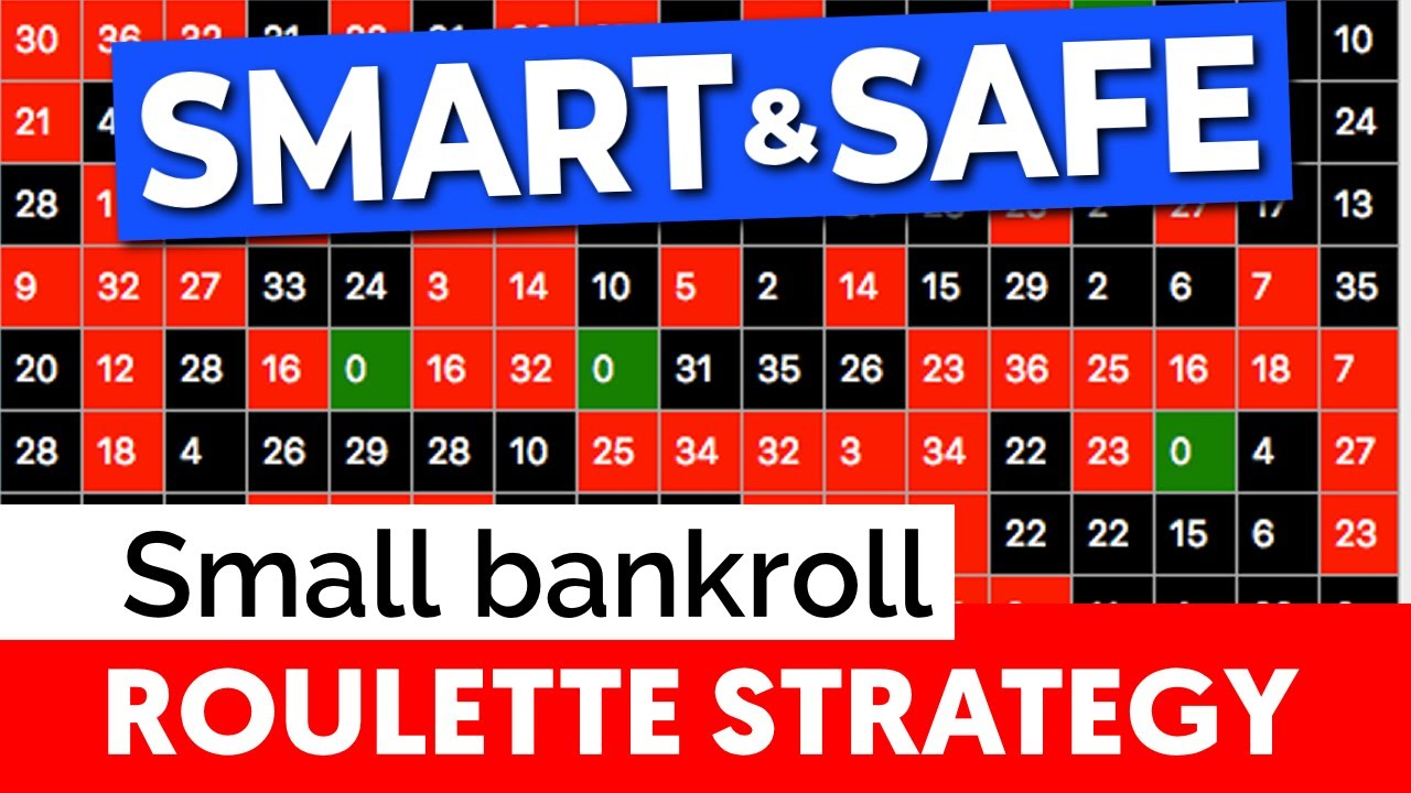 SAFEST roulette strategy = Small Bankroll! - YouTube