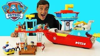 Paw Patrol Adventure Beach Tower Playset !    Toy Review    Konas2002