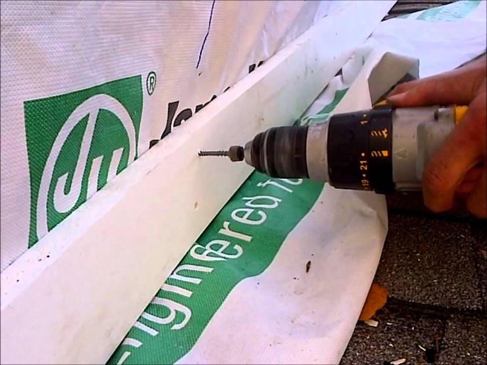Pvc Trim Installation Using Cortex Youtube