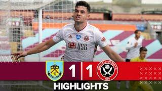 Burnley 1-1 Sheffield United | Premier League highlights | John Egan earns Blades a point in the EPL