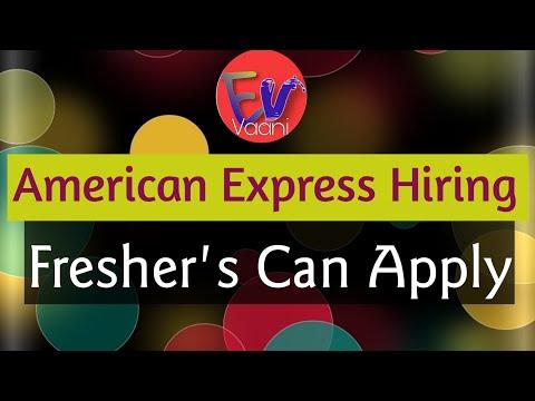 American Express Hiring 2019 | Job Location : Gurgaon | Apply ASAP