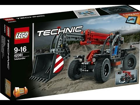 lego news lego technic 2017 teahandler and air rice jet sets official pics youtube. Black Bedroom Furniture Sets. Home Design Ideas