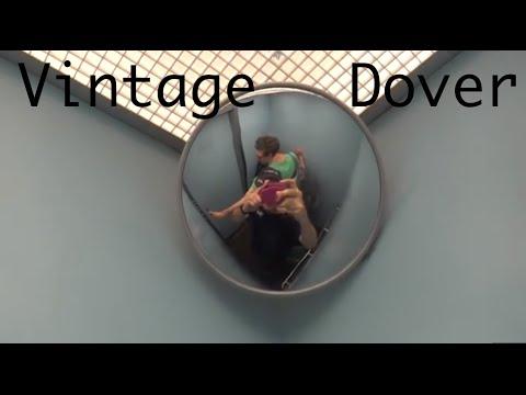 Vintage Burlington Dover Hydraulic elevator @ 25 Victory Blvd. Staten Island NY