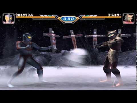 ultraman ace/robot ace vs ace killer(FE3)