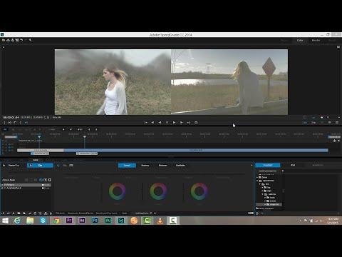 DSLR tutorial: Color grading from scratch in SpeedGrade | lynda.com