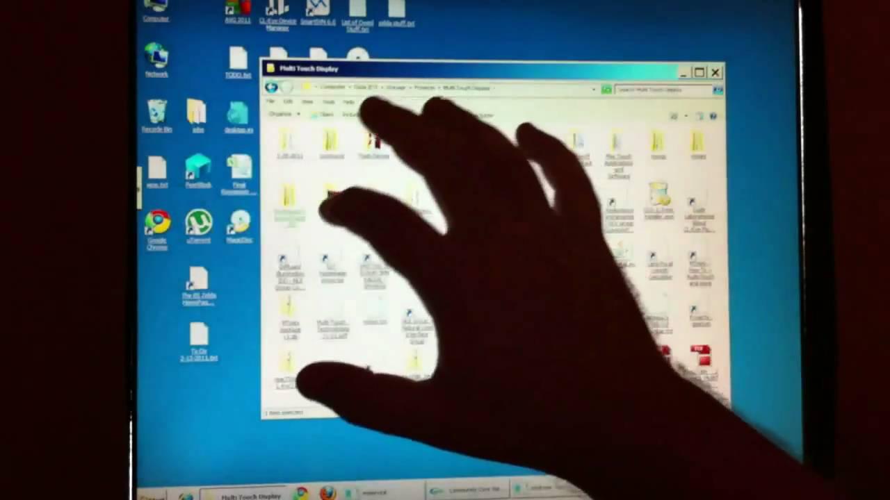 Descargar driver multitouch para windows 7