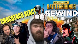 ChocoTaco React To Most Viewed Pubg Clips of 2019