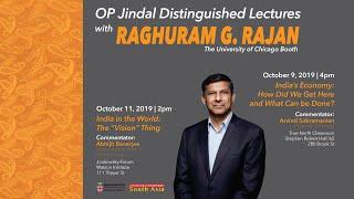 "Raghuram Rajan — India in the World: The ""Vision"" Thing"