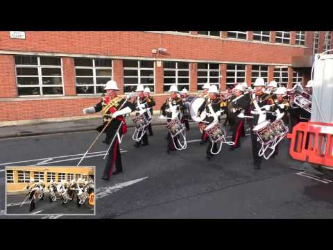 HM Royal Marines band