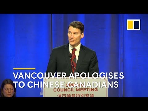 Vancouver makes official apology to Chinese Canadians for past discrimination